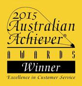 Australian Achiever Awards 2015 - Winner
