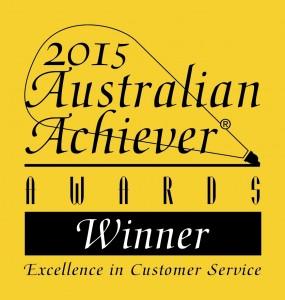 2015 Australian Achiever Awards Winner logo